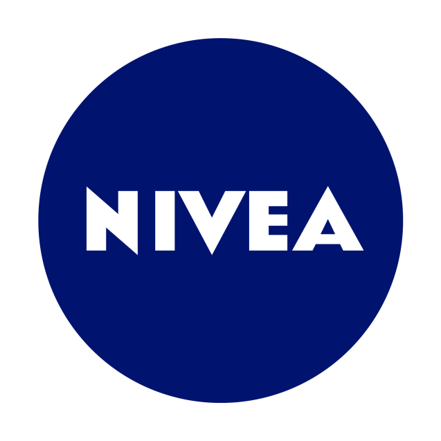 NIVEA logo with outline